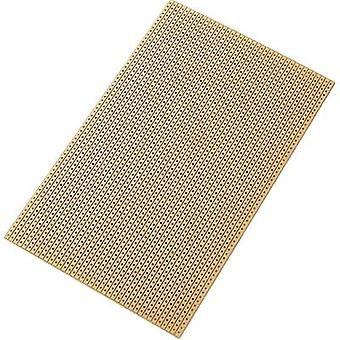 Conrad Components 530249 Euro Cicuit Board 100 X 160 Solder Strip Screen SU527453 (L x W) 160 mm x 100 mm Epoxide