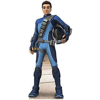 Scott Tracy Thunderbirds Are Go Lifesize Cardboard Cutout / Standee / Standup