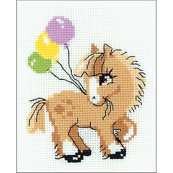 Pony Crony Counted Cross Stitch Kit-6