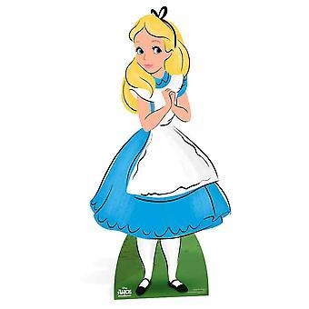 Alice da Alice nel paese delle meraviglie Disney cartone Lifesize ritaglio / Standee / Stand Up