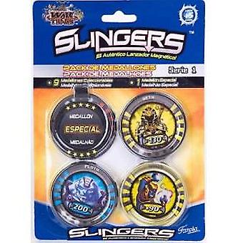 Famosa Medallions Slingers (Toys , Action Figures , Play Weapons And Accessories)
