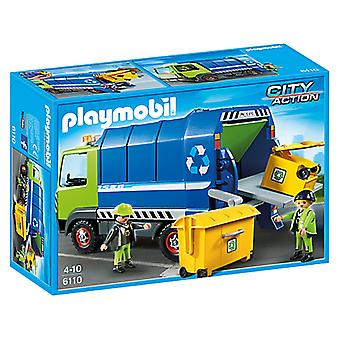 Playmobil 6110 Recycling Truck (Kids , Toys , Dolls , Playsets And Figures , Vehicles)