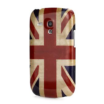 UK flagg plastdekselet PC til Galaxy S3 mini i8190