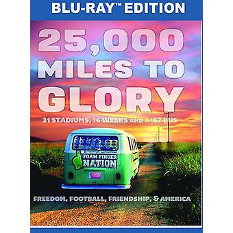 25, 000 Miles til herlighed [Blu-ray] USA import