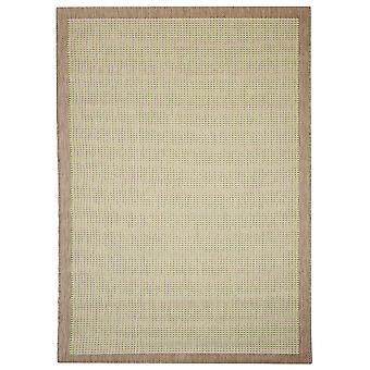 Moderne grønne & grå Flatweave tæppe - Floorit