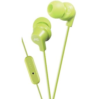 Ha-Fr15-G-E In-Ear Earphone Remote + Mic. Green