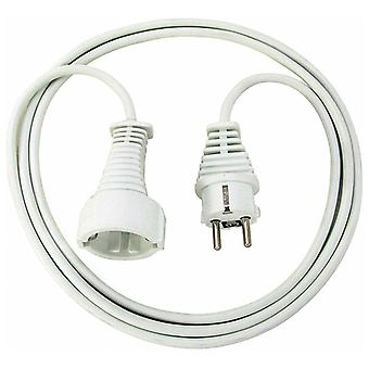 Brennenstuhl grounded extension cord, CEE 7/7-CEE 7/4, 3 m, white