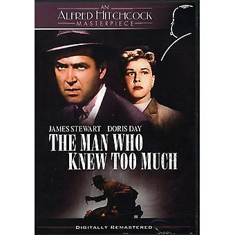 The Man Who Knew Too Much [DVD] USA import