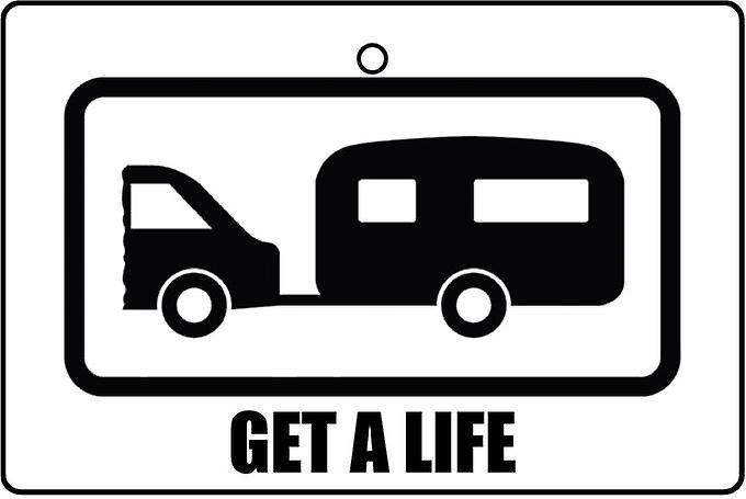 Get A Life Car Air Freshener