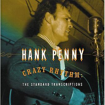Hank Penny - Crazy Rhythm: Standard Transcr [CD] USA import