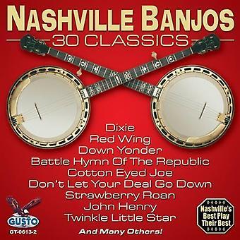 Nashville banjoer - 30 Classics [CD] USA importerer