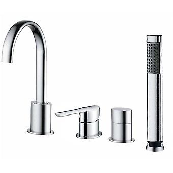 Clever Faucet Single-lever Bath-Shower Battery Ec2 Mikura