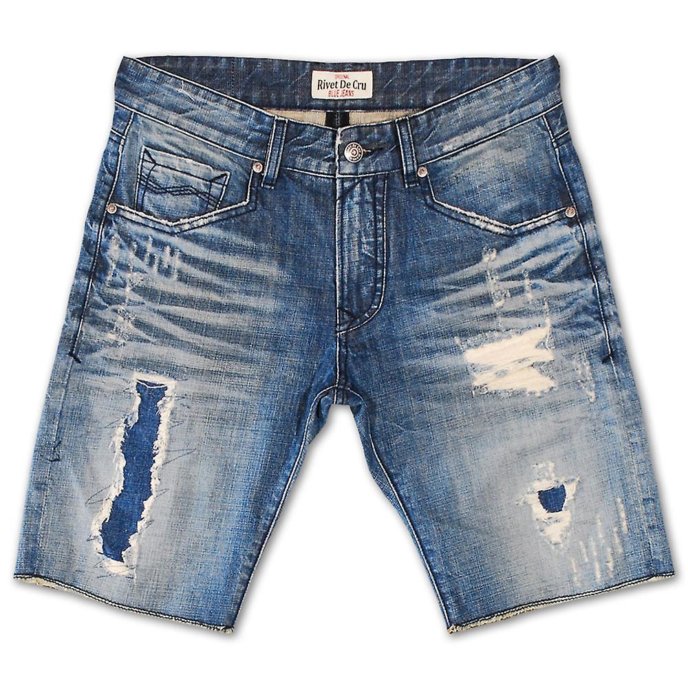 Rivet De Cru polaire bleu Denim Shorts