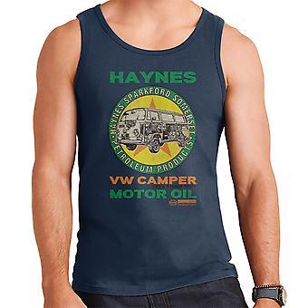 Haynes Brand VW Camper Motor Oil Men's Vest