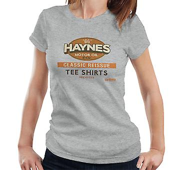 T-shirt Haynes ristampa classico t-Shirts Donna