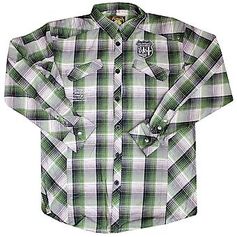 Live Mechanics Trailmaster L/S Shirt Medieval Green