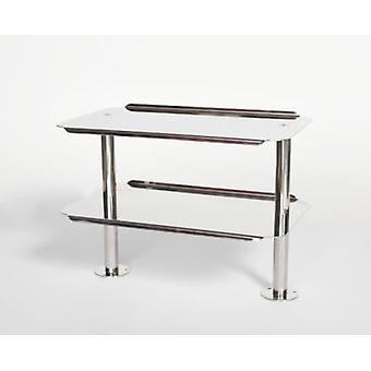 Buarfe Double stainless steel tray (Home , Kitchen , Bakery , Exhibitor)