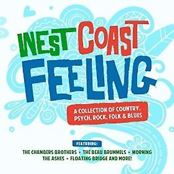 Various Artist - West Coast Feeling: Collection Country Psych [CD] USA import