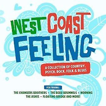 Forskellige kunstner - West Coast følelse: Samling land Psych [CD] USA import