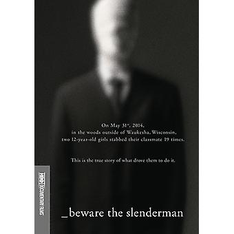Beware the Slenderman [DVD] USA import