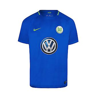 2017-2018 VFL Wolfsburg Away Nike Football Shirt