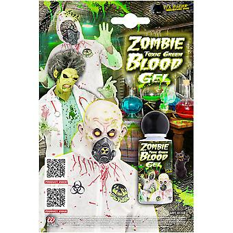 Halloween and horror  Zombie toxic green blood  28 mL