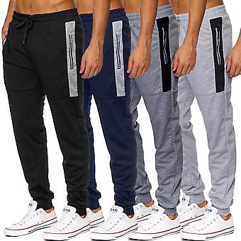 Mænds sweatpants bukser sports pants fitness jogging bukser passer stil sved