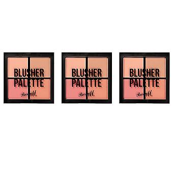 Barry M X3 Barry M Blusher Quad Palette