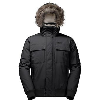 Jack Wolfskin Brockton Point Parka - Black