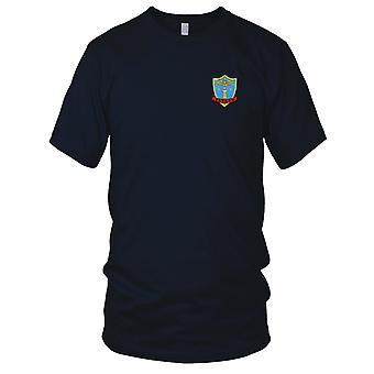 US Navy CVL-29 USS Bataan Embroidered Patch - Mens T Shirt