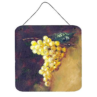 New White Grapes by Malenda Trick Wall or Door Hanging Prints