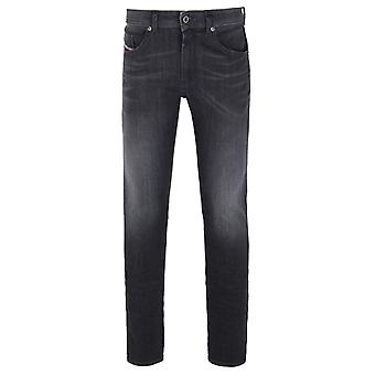 Diesel Washed Black Thommer Skinny Jeans