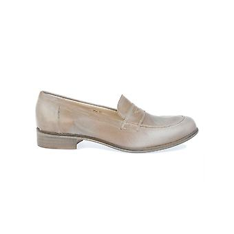 Pepe Rosa women's H6102SILVER silver leather moccasins