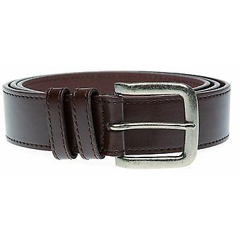 Duke Mens Archie Anqitue Buckle Belt