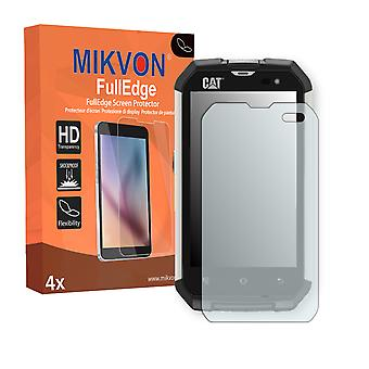 Cat B15 screen protector - Mikvon FullEdge (screen protector with full protection and custom fit for the curved display)