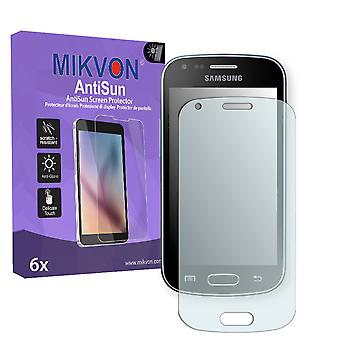 Samsung GT-S7580 Screen Protector - Mikvon AntiSun (Retail Package with accessories)