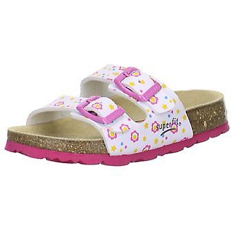 Superfit meisjes Tecno 111-51 sandalen wit roze
