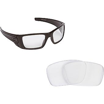 Mejor busca lentes de recambio Oakley gafas FUEL CELL Crystal Clear ac89bb3032
