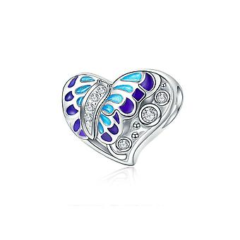 Sterling silver charm Fantasy butterfly SCC545