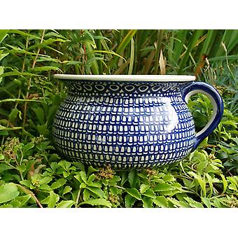 Chamber pot, tradition 52, height 14 cm, size 27 x 23 cm, BSN m-1206