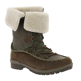 MERRELL women's winter shoes boots brown leather Schlupfstiefel
