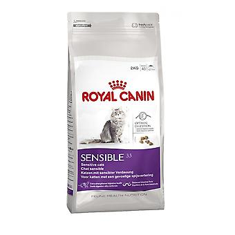 Royal Canin Sensible Cat Adult Dry Cat Food Balanced and Complete Cat Food 2KG