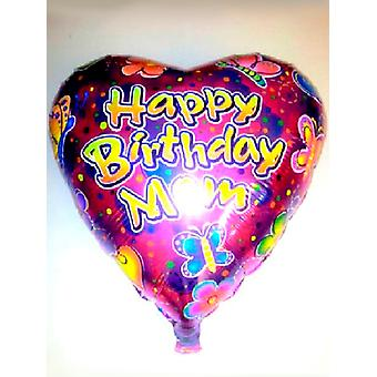 Folie ballon HAPPY BIRTHDAY moeder