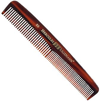 Hercules Sagemann Mens Hair Comb Sawcut 6