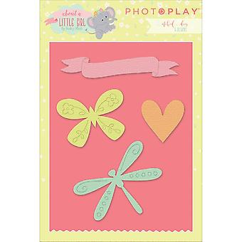 Photo Play Paper Etched Dies-About A Little Girl