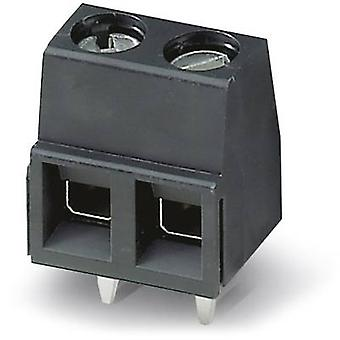 Phoenix Contact MKDSN 1,5/ 2-5,08 HT BK Screw terminal 1.50 mm² Number of pins 2 Black 50 pc(s)