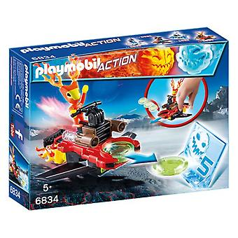 Playmobil Sparky mit Disc Shooter 6834