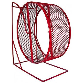Trixie Metal Exercise Wheel with Closed Mesh Running Surface ø22 cm