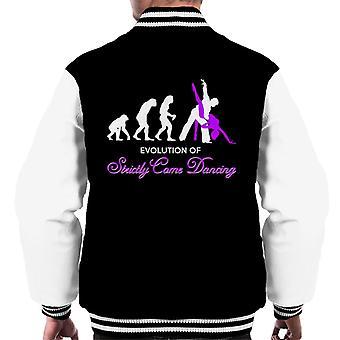 Evolution Of Strictly Come Dancing Men's Varsity Jacket