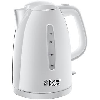 Russell Hobbs 21270 Textures 1.7L 3000kW White Plastic Cordless Electric Kettle